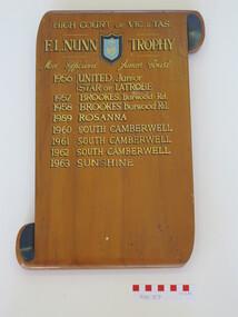Plaque - Award board