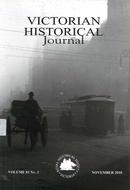 Victorian historical journal. Royal Historical Society of Victoria