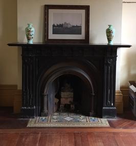 Decorative object: Morning Room Fireplace, Villa Alba