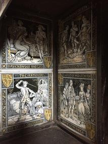 Decorative object: Surround Tiles, Main Bedroom Fireplace, Villa Alba