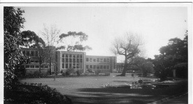 Photograph - Black and white print, Administration Building, 1949-1951