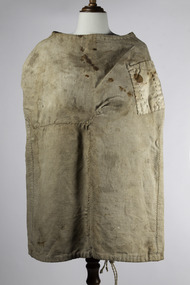 A piece of clothing used to constrain an unruly prisoner