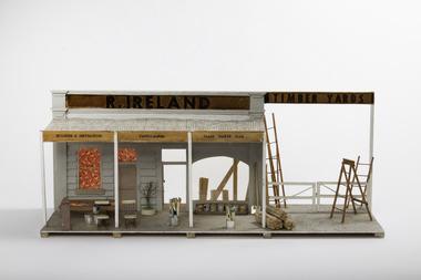 Mixed media - Model, R. Ireland Timber Yards, 1970`s