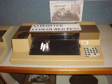 Digital Plotter, Estimated 1980's