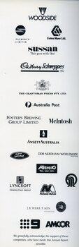 Corporate sponsor logos