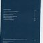 Contents page with white writing on blue background