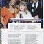 Natalija Lambert with presenters Lisa Wilkinson and Karl Stefanovic at Carols by Candlelight