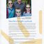 Story of Neville Partridge and his vision loss, with picture of Neville and his grandchildren Amy, Joshua and Rachel