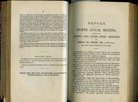 Rules and Regulations of Institute and Minutes from the Annual General Meeting