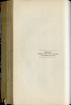 End paper with publisher information