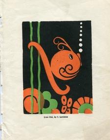 Work on paper, [Fish] by Iris Leviston, c1937