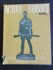 Book, Active Service / With Australia in the Middle East, 1941