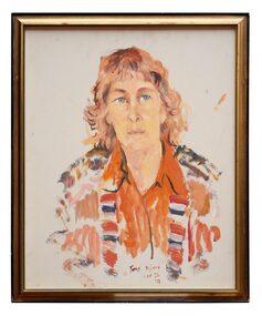 Oil Painting, June Byford