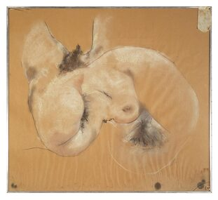 Pastel Drawing, Composite Nudes, 1975