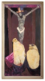 Oil Painting, The Penitents, 1967