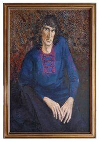 Oil Painting, Playwright David Williamson, 1973
