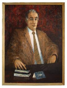 Oil Painting, Portrait of Sir Zelmam Cowan, 1973