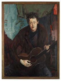 Oil Painting, Portrait of Brian Mooney, 1965