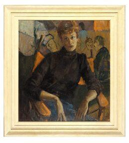 Oil Painting, Portrait of Pat Tozer, 1955