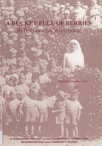 book, A bucket full of berries: reflections on Whitehorse, 2000