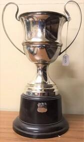 Silver cup on Bakelite base
