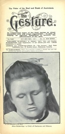 The Gesture - The Voice of the Deaf and Dumb of Australasia October November December 1911