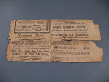Newspaper, Queenslander Herald, No, 1914