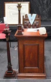 Junior Warden Pedestal