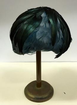 Iridescent Feather Casque