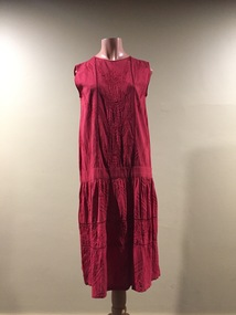 1920s Style Indian Cotton Dress