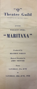 Maritana / by Vincent Wallace