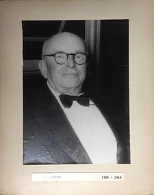 Dr. Henry Rogerson, 1938-1949