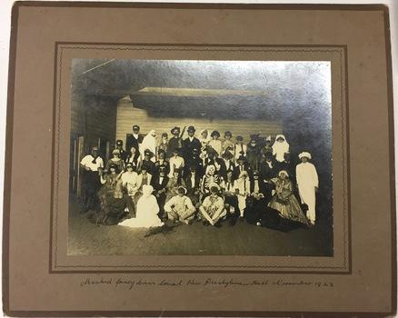 Fancy Dress Social, Kew Presbyterian Church Hall, 1922