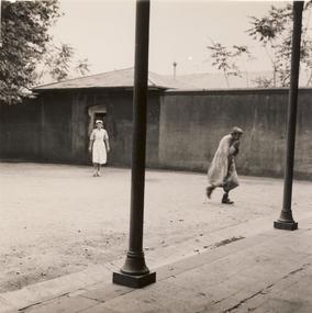 Photograph, Nurse and Female Patient, Kew Mental Hospital, 1951
