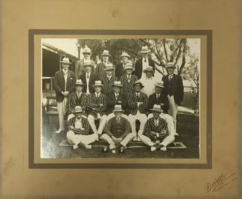 """Kew Bowling Club / VBA Pennant Winners, """"B Team"""" 1931-2"""
