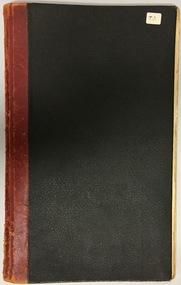 Auburn Heights Tennis Club Minute Book 1948-52