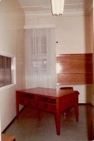 Photograph, Office, Willsmere [Kew] Unit, 1980s