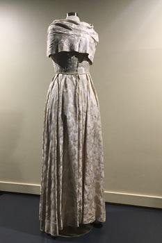 Formal Silk Brocade Gown