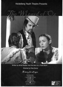 Program Photos, The Wizard of Oz written by Alfred Bradley from the story by L. Frank Baum directed by Elise Dorian