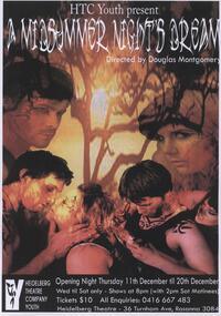 Memorabilia - Program Photos Poster Articles Memorabilia, A Midsummer Night's Dream directed by Douglas Montgomery