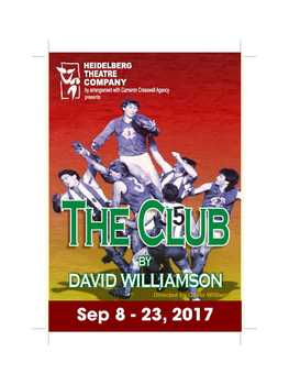 The Club by David Williamson directed by Gavin Williams