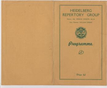 Program Memorabilia, 1956 General Memorabilia