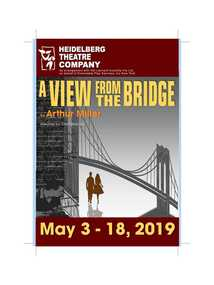 Program Photos Review Newsletter Poster Articles, A view form the bridge by Arthur Miller directed by Chris McLean