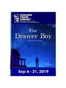 Program Photos Review Newsletter Poster, The drawer boy by Michael Healey directed by Karen Wakeham