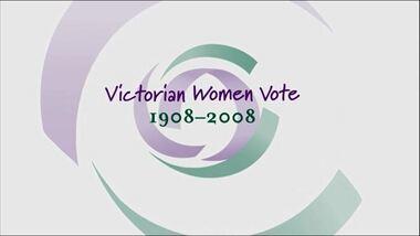 CD-Rom, Victorian Women Vote, c. 2008