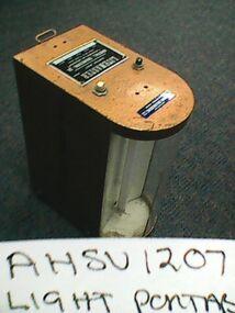 Light, portable, Litemaster, Burstall Engineering Company, Circa 1970s