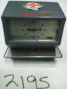 Time clock, Simplex, JCG4L4, Simplex Int. Time Equipment