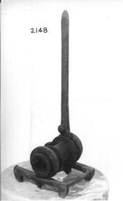 Metal wire strainer.