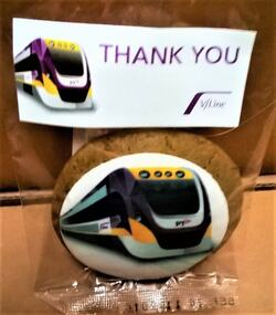 V/Line - thank you cookie, 2018