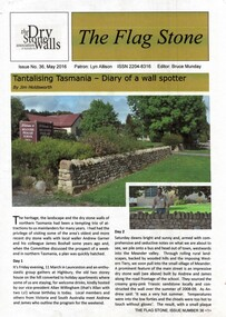 DSWAA Journal, The Flag Stone No 36 May 2016